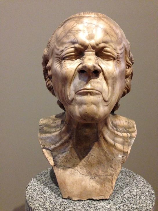 head by Franz Xaver Messerschmidt