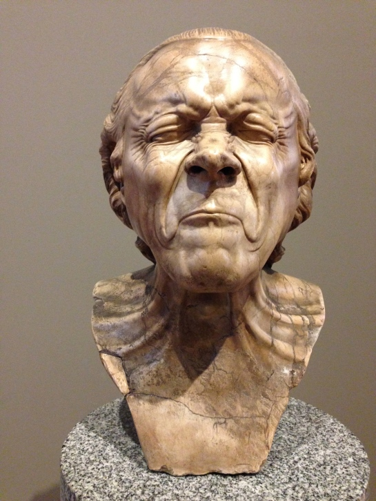 head by Franz Xaver Messerschmidt