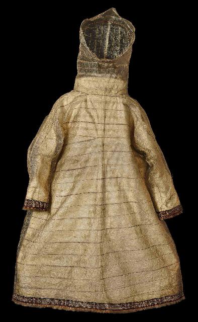 Seal Intestine Raincoat. Pitt Rivers Museum Oxford