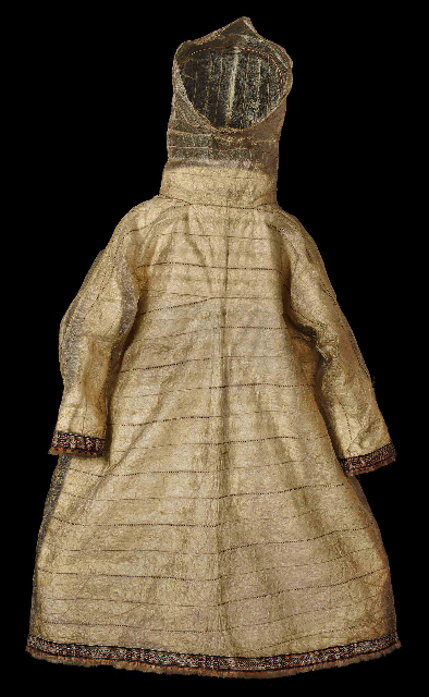 Seal Intestine Raincoat. Pitt Rivers Museum Oxford