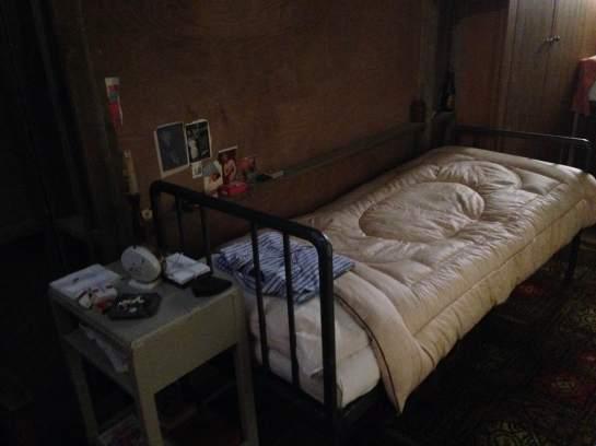 Beginning of the novel bed
